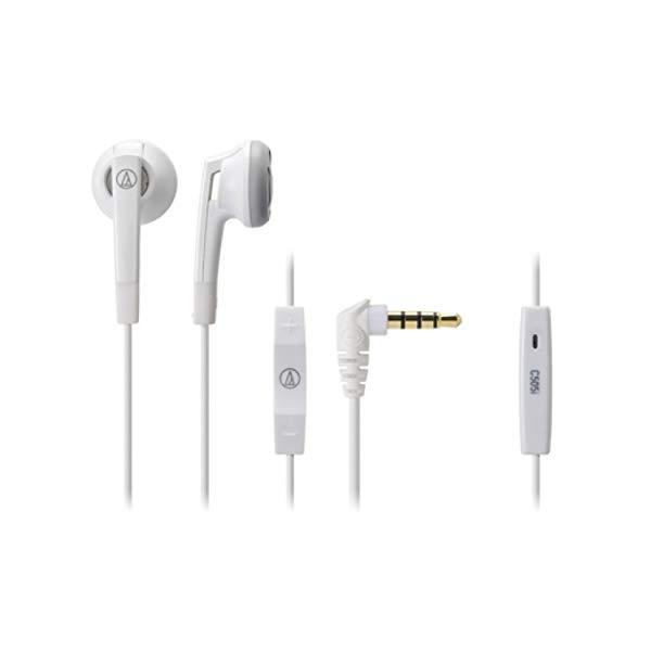 イヤホン iPod/iPhone/iPad専用 ホワイト ATH-C505i WH